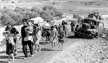 Resultado de imagen de guerra 1947 refugiados judios