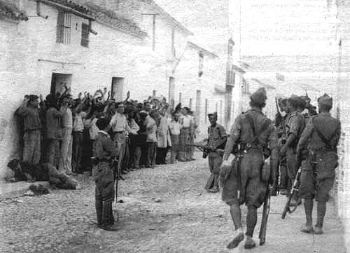 Resultado de imagen de represion guerra civil