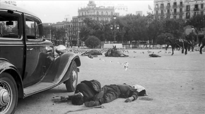 Resultado de imagen de guerra civil cataluña iglesias
